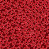 Patroon van gestileerde bloemen vector illustratie