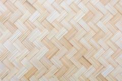 Patroon van geweven bamboe royalty-vrije stock afbeeldingen