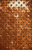 Patroon van geweven roestig metaal Royalty-vrije Stock Afbeeldingen