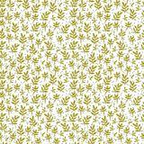 Patroon van groene lelietje-van-dalentakken Royalty-vrije Illustratie