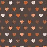 Patroon van harten Stock Afbeelding