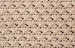 Patroon van het breien. Stock Foto