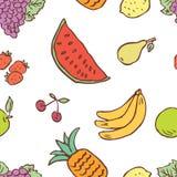 Patroon van het diverse fruit Royalty-vrije Stock Foto