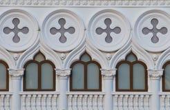 Patroon van het gebouw Royalty-vrije Stock Foto's