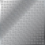 Patroon van het het broedselloopvlak van het roestvrij staal het kleine dwars vector illustratie