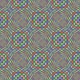 Patroon van het ontwerp het naadloze kleurrijke mozaïek Stock Foto