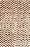 Patroon van houten mat Stock Foto