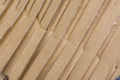 Patroon van karton Royalty-vrije Stock Afbeeldingen