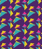 Patroon van kegelbaan Retro jaren '90 vector illustratie
