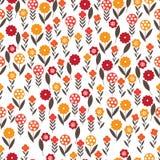 Patroon van kleine bloemen Vector Illustratie