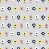 Patroon van kleine bloemen Royalty-vrije Illustratie