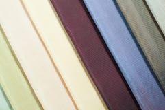 Patroon van kleurrijk stoffenbeeld Royalty-vrije Stock Foto