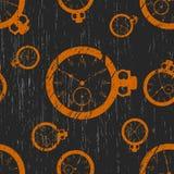 Patroon van klok Stock Afbeelding