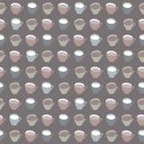 patroon van koppen Royalty-vrije Stock Fotografie