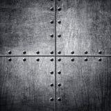 Patroon van metaalachtergrond stock fotografie