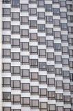 Patroon van modern flatgebouw Stock Foto's