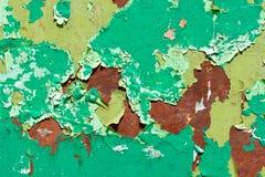 Patroon van oude geschilderde oppervlakte Royalty-vrije Stock Foto's