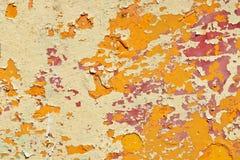 Patroon van oude geschilderde oppervlakte Royalty-vrije Stock Afbeeldingen
