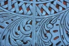 Patroon van oude staallijst Royalty-vrije Stock Afbeelding