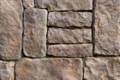 Patroon van oude steenMuur Royalty-vrije Stock Afbeeldingen