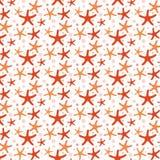 Patroon van overzeese sterren Royalty-vrije Stock Foto's