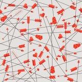 Patroon van pijlen Stock Illustratie
