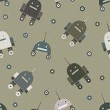 Patroon van robots Royalty-vrije Stock Fotografie