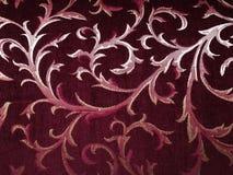 Patroon van rood tapijt stock afbeeldingen