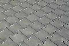 Rubber tegelsvloer Stock Foto