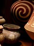 Patroon van Siam Pottery Royalty-vrije Stock Fotografie