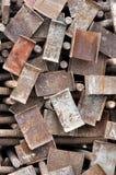 Patroon van stapel van bouwcomponent Stock Afbeelding