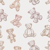Patroon van teddyberen Stock Foto