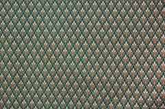 Patroon van Thaise stof Stock Foto