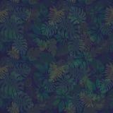 Patroon 2 van Tropische Bladeren royalty-vrije illustratie