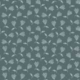 Patroon van tulpen. bloementextuur Royalty-vrije Stock Afbeeldingen