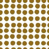Patroon van vele vlekken, naadloos vectorpatroon op witte achtergrond Royalty-vrije Illustratie