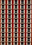 Patroon van vensters Royalty-vrije Stock Foto