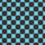 Patroon van vierkant vector illustratie