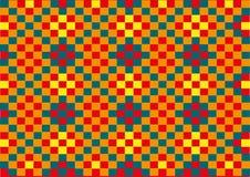 Patroon van vierkanten Royalty-vrije Stock Fotografie