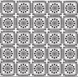 Patroon van vierkanten Stock Fotografie