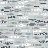 patroon van vissen Royalty-vrije Stock Afbeelding