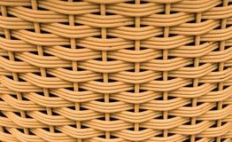 Patroon van weefselmand Stock Foto