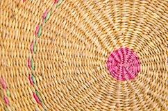 Patroon van weefselmat Royalty-vrije Stock Afbeelding