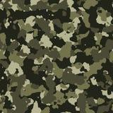 Patroon van wildernis het naadloze camo royalty-vrije illustratie