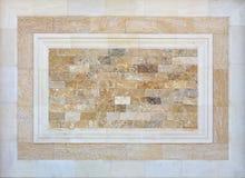 Patroon van Witte Moderne Bakstenen muur Stock Afbeeldingen