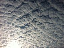Patroon van wolk Stock Afbeeldingen
