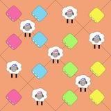 Patroon voor de textiel van kinderen royalty-vrije illustratie