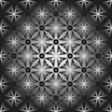 Patroon voor Gebrandschilderd glasvenster stock illustratie