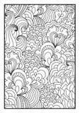 Patroon voor het kleuren van boek Stock Fotografie