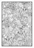 Patroon voor het kleuren van boek Stock Afbeelding
